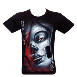 T-shirt Catrina Red